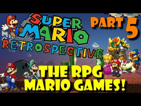 Super Mario Retrospective - Part 5 - The RPG Mario Games
