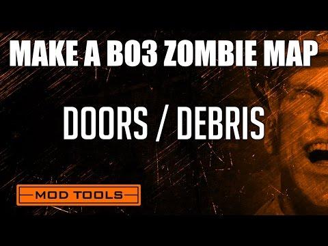 Black Ops 3 Mod Tools Zombies Tutorial - Buyable Doors, Electric Doors, Debris Tutorial thumbnail