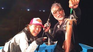 イカ釣り番長重見さんと島根の海でイカメタルです! 釣りは楽しく!の重...