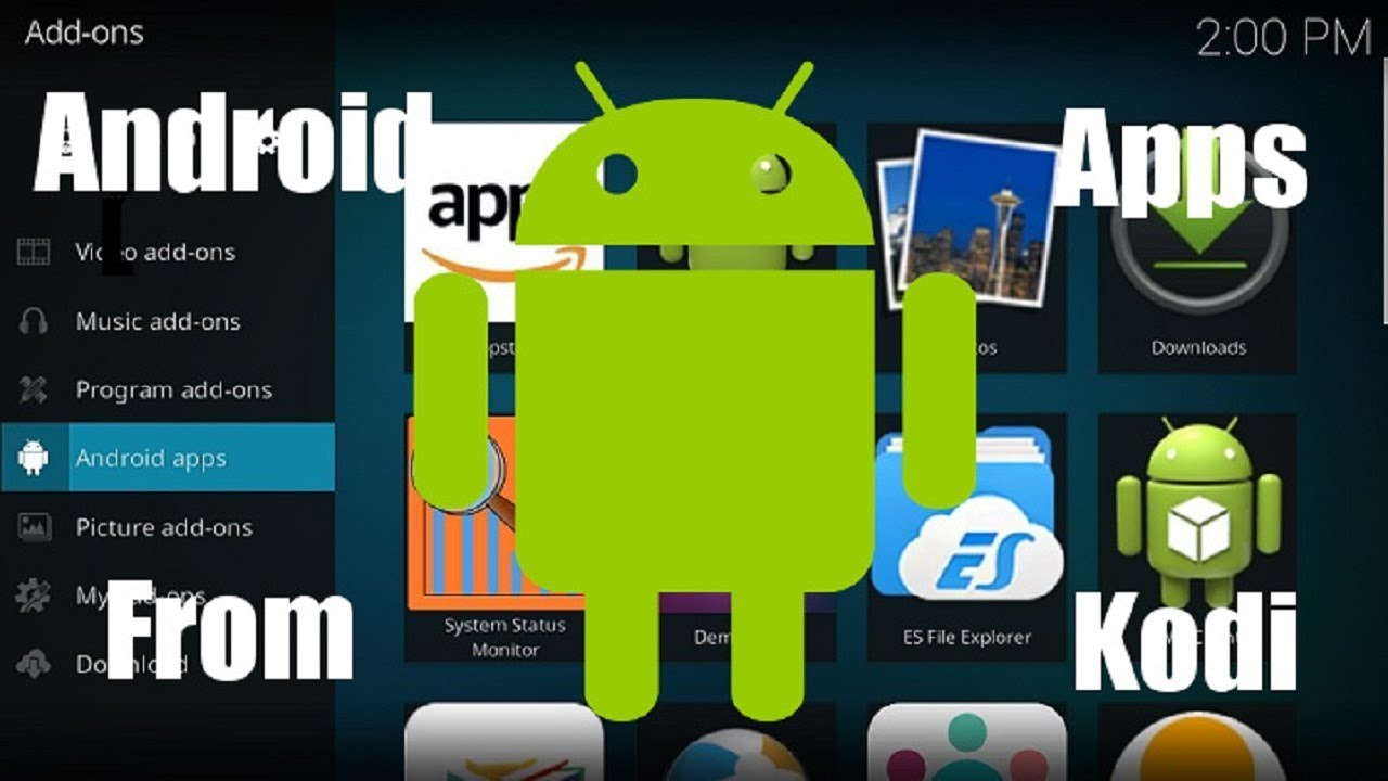 How to Launch Android Apps from Kodi - Home Media Portal