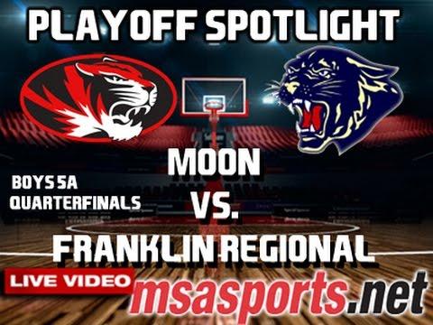 MSA Sports Playoff Spotlight:  Moon vs. Franklin Regional   2/24/17