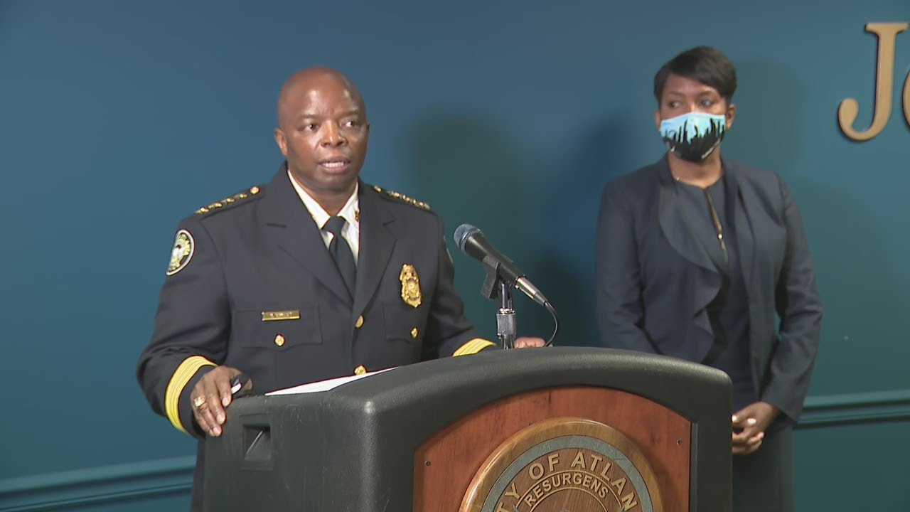 Atlanta mayor, police chief address gun violence in city