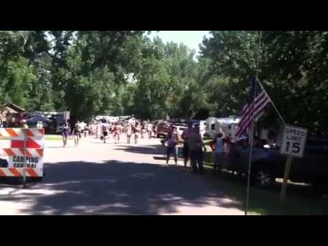 Country stampede camping