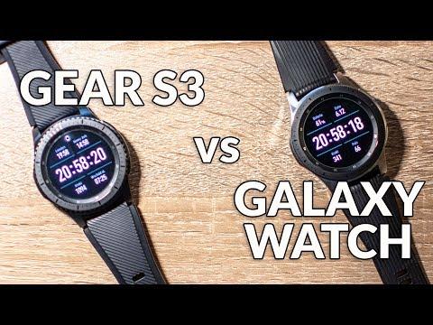 Samsung Galaxy Watch 46mm vs Gear S3 Frontier   porównanie pl