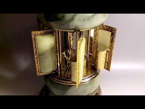 Reuge Marble Music Box carousel
