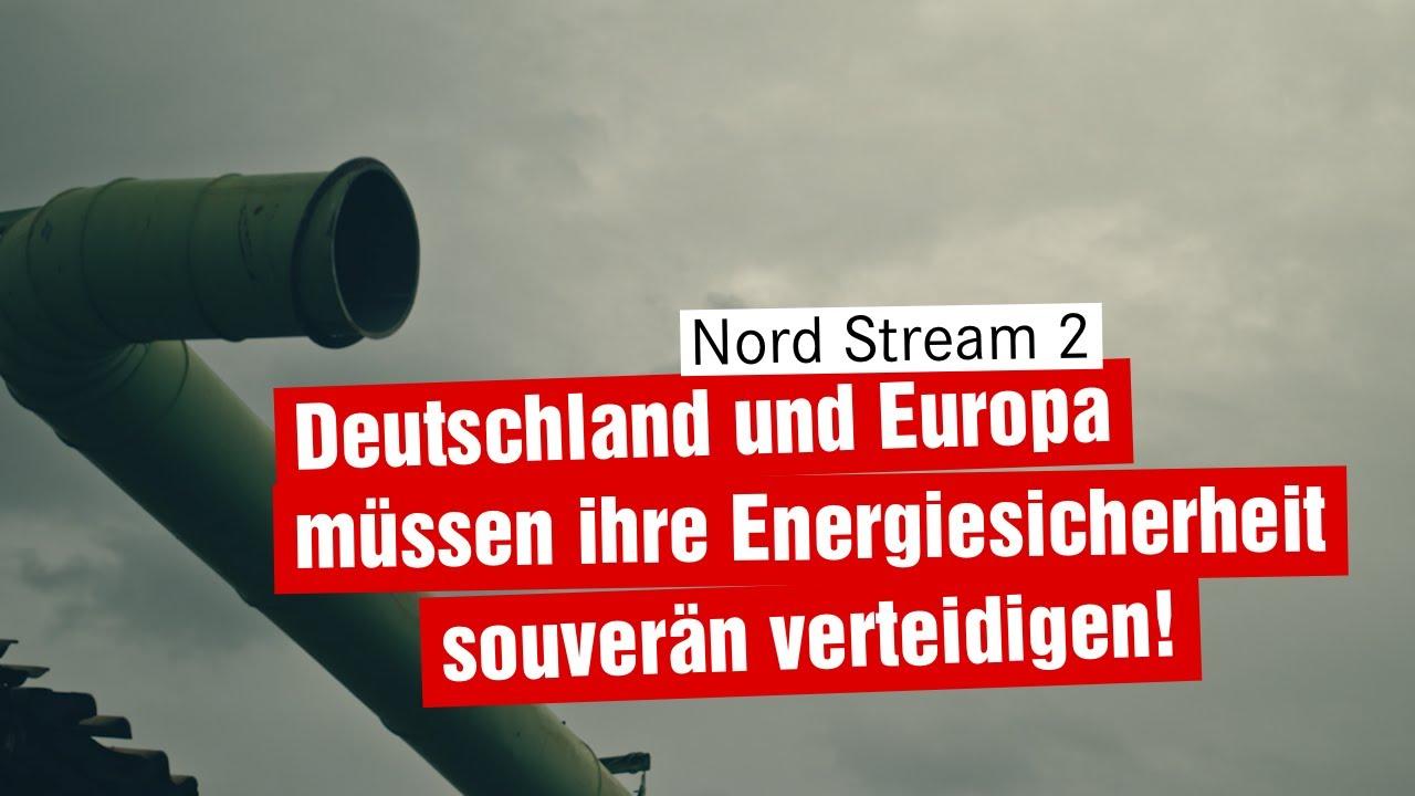 Nord Stream 2 – souverän und unabhängig bleiben