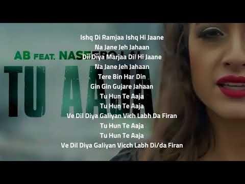 Tu Aaja Lyrics   Naseebo Lal & AB Music   2017 Punjabi Song   YouTube