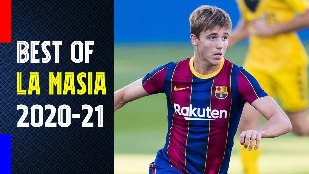 Download Best of La Masia 2020-21! Nico González, Gavi, and many more with Navid Molaaghaei