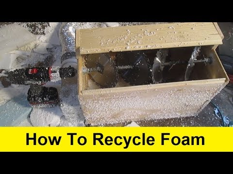 How To Recycle Foam Into Free Insulation