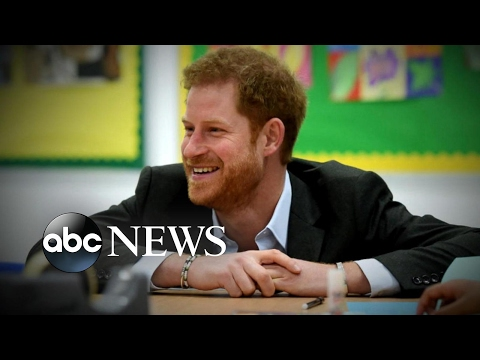 Prince Harry says he shut down his emotions after losing his mother