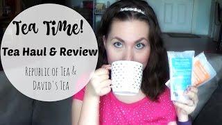 Summer Tea Haul & Review | David's Tea and Republic of Tea