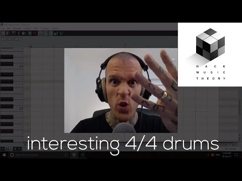 How to Program Interesting 4/4 Drums | Hack Music Theory