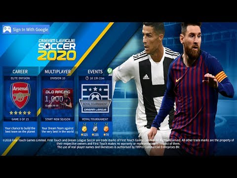 Game Android Offline Dream League Soccer 2020 (dls 19 mod 20) Link + Cara Install - 동영상