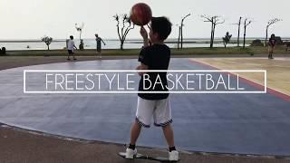 沖縄でフリースタイルバスケットボール! thumbnail