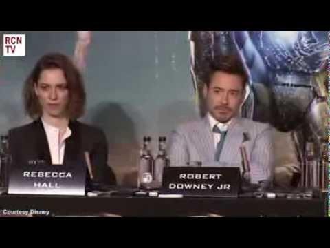 Iron Man 3 UK Press Conference
