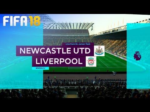FIFA 18 - Newcastle United vs. Liverpool @ St. James' Park