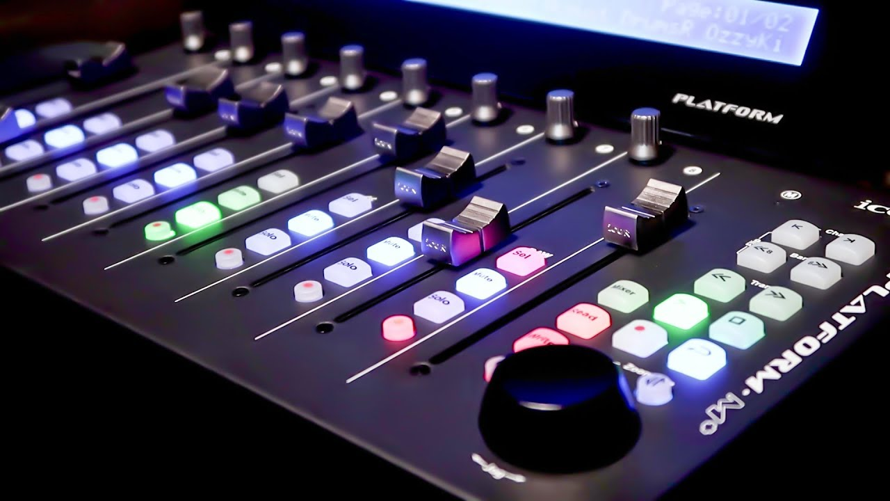 The Icon Platform M Best Compact Controller For Production Digital Audio