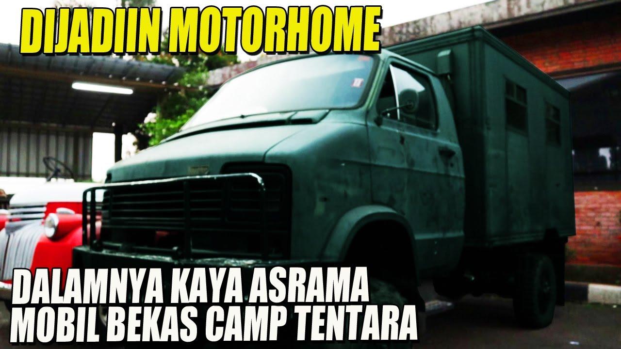 MAIN KE BENGKEL OM HAUWKE, KETEMU MOBIL TUA UNTUK JADI MOTORHOME #CAMPERVAN MOTORHOME INDONESIA
