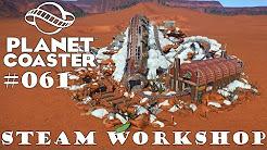 Voltage - Back to Hydrea III [Mine train coaster] 🎢 PLANET COASTER 🎠 Attraktion Vorstellung #061