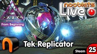 where to make the tek replicator extinction