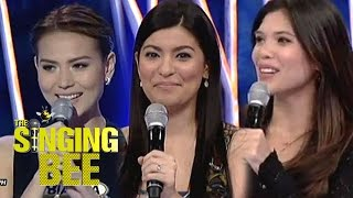Kapamilya beauties Bianca, Assunta and Ginger on The Singing Bee