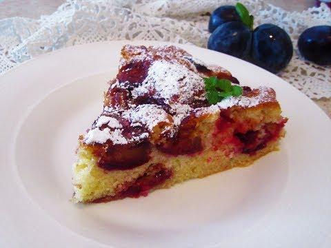 Kolač- torta sa šljivama / Plum cake - SOS Kuhinja