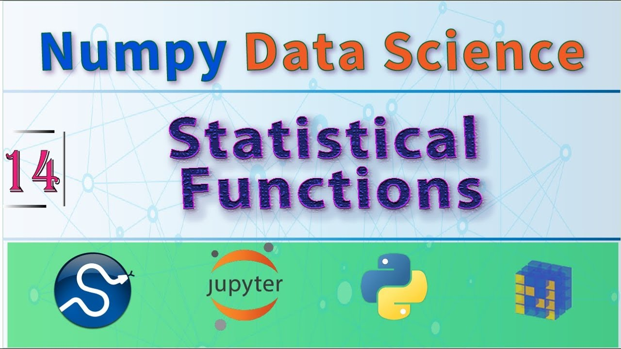 Learn Python Statistical Functions With Scipy Stats & NumPy, Data Analysis  Course For Beginners 🐍