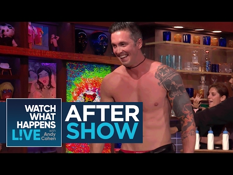 After Show: Bobby Giancola Strips Down In The Clubhouse