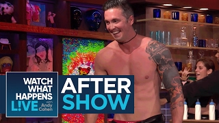 After Show: Bobby Giancola Strips Down In The Clubhouse | WWHL