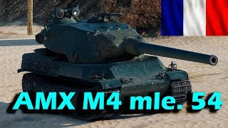 WoT Best Fights Лучший бой на AMX M4 mle. 54 - Новый Французский тяж 10лвл !