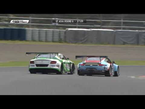 GT3 FIGHT! Bentley Continental vs. Porsche 991 - GT Asia Okayama 2016・Jono Lester
