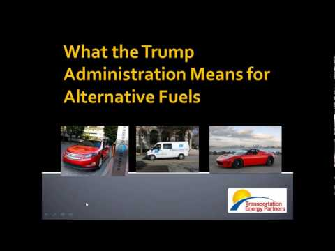 Transportation Energy Partners Webinar: Outlook for Alternative Fuels and Vehicles