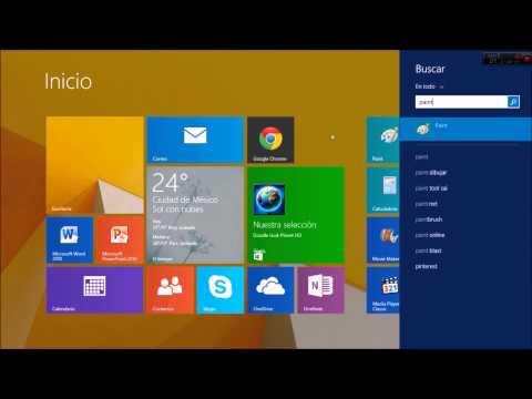 Cómo Abrir Paint En Windows 8