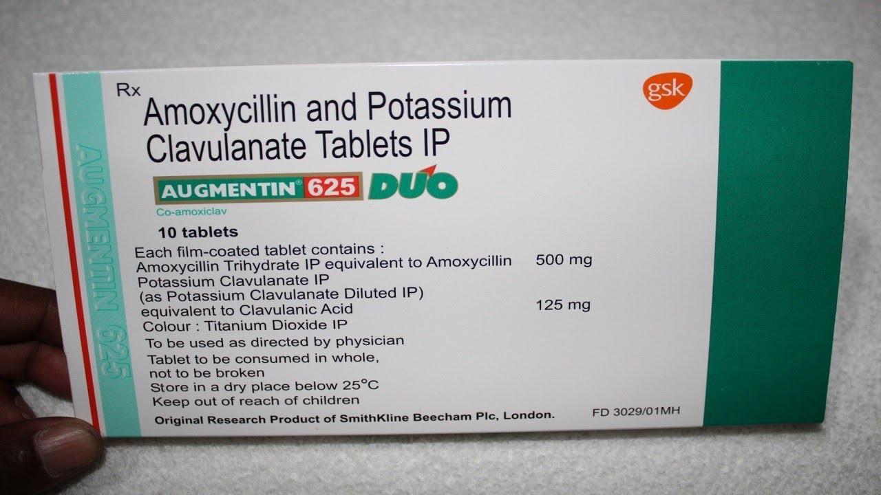 How to take augmentin 375 mg