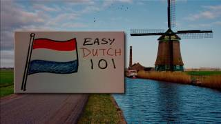 Easy Dutch 101 - Lesson 1 -  What are you?