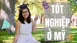 Vlog 13 - LỄ TỐT NGHIỆP Ở MỸ 🇺🇸🎓| Lifestyle