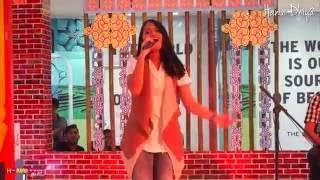 Hanin Dhiya - Yang Terbaik & Siapkah Tuk Jatuh Cinta (MashUp) @Mall Bassura