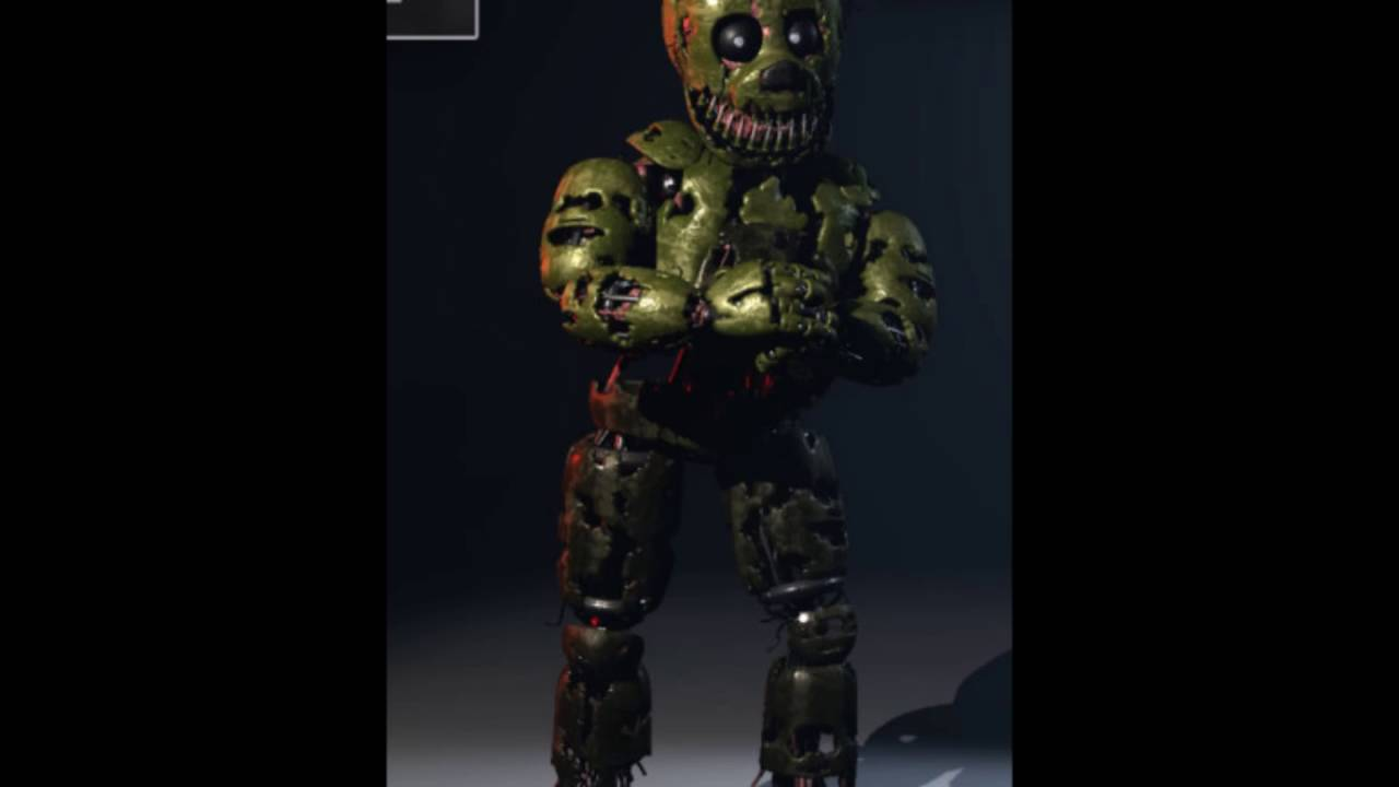 Fnaf song ii sinister springtrap s voice youtube