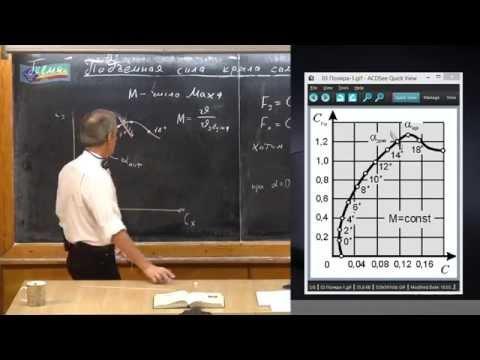 Урок 136. Подъемная сила крыла самолета (часть 2)