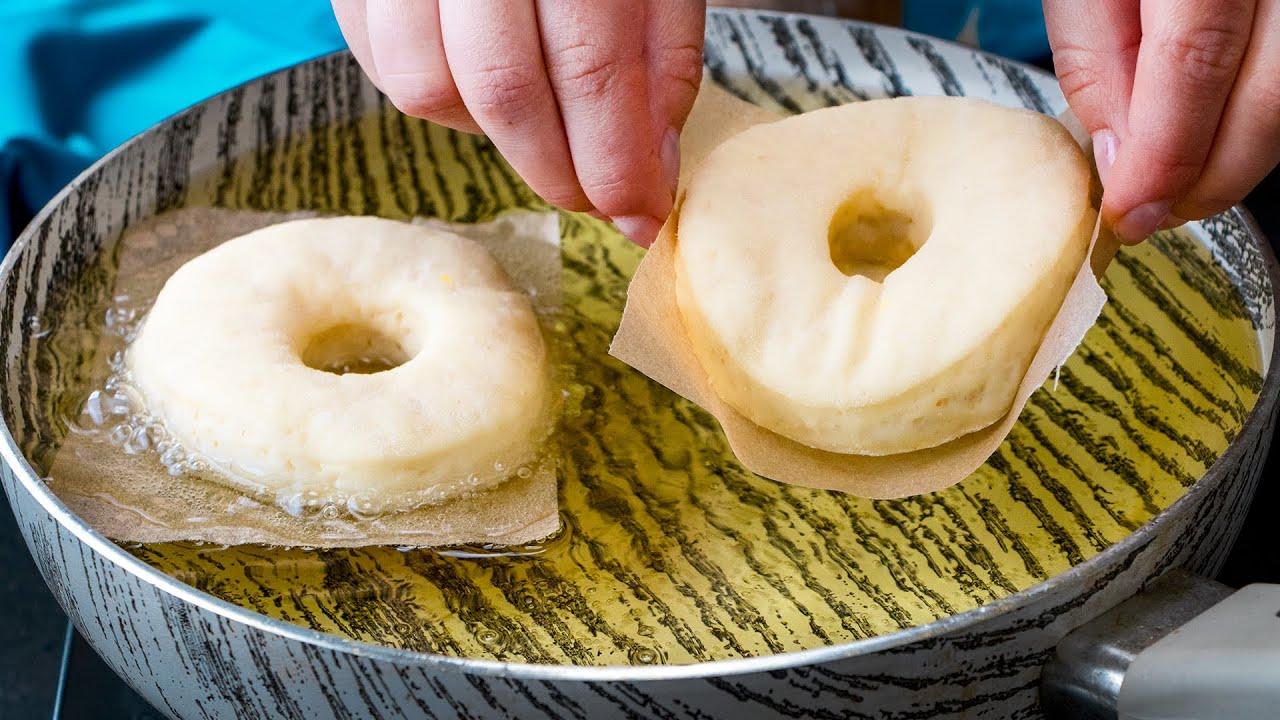 Vaj, krumpli és tojás nélkül! Joghurtos fánk sütve.| Cookrate - Magyarország