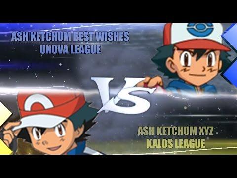Pokemon Omega Ruby & Alpha Sapphire [ORAS] Ash Vs Ash (Best Wishes Vs XYZ)