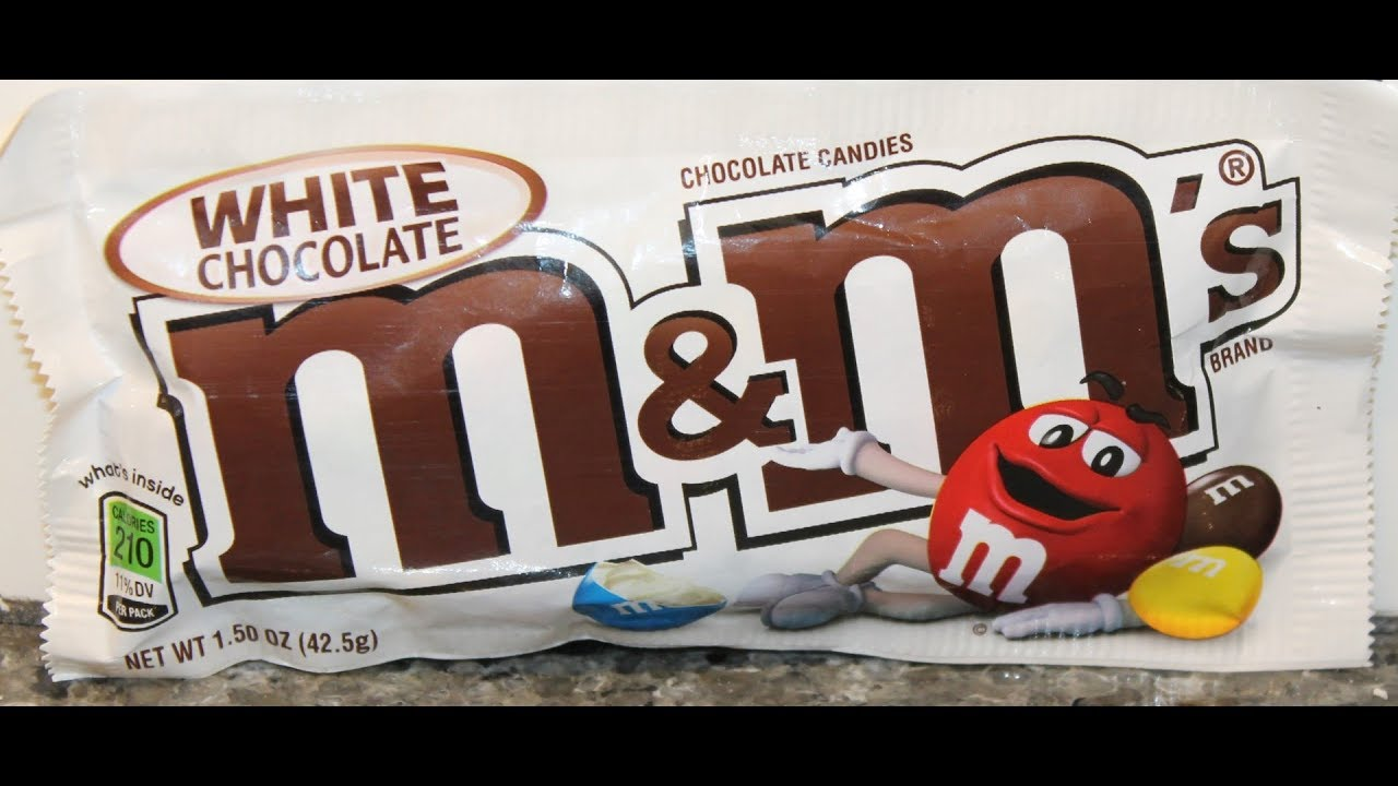 Image result for white chocolate m&m