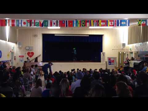 Unicycle Performance - Talent Show at Barron Park Elementary School - 03/23/2018