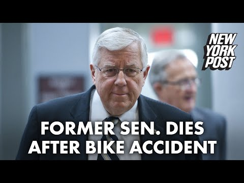 Former US Sen. Mike Enzi dies after being injured in bicycle accident   New York Post thumbnail