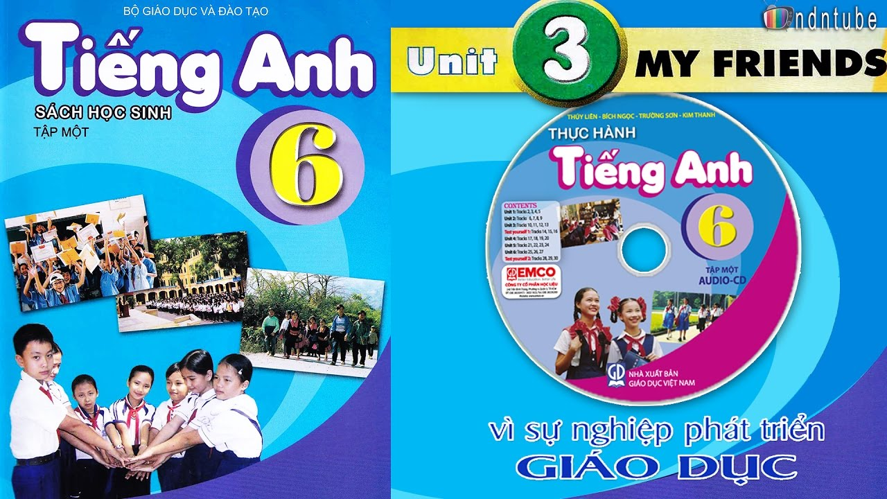 Tiếng Anh Lớp 6: Unit 3 MY FRIENDS