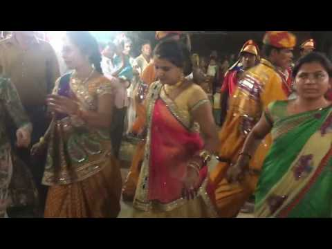 gujarat village wedding varghodo girl and boys dance live video