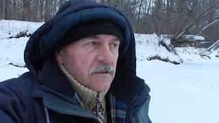 Рыбалка в Приморье. Первый лёд. Река Журавлёвка. 28.11 - 07.12.2017 г.
