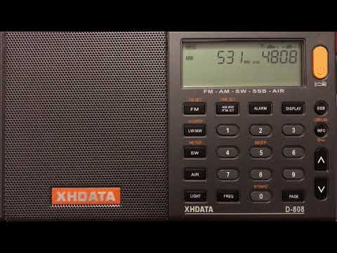 531 kHz Jil FM from Algeria copied with the XHDATA D-808