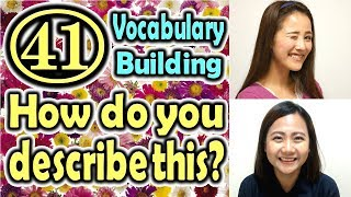 How do you describe this?(41) (Vocabulary Building) [ ForB English Lesson ] thumbnail