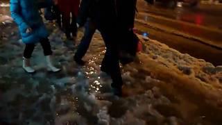СПб,зима, 19.01 .2011  Загородный проспект.MP4